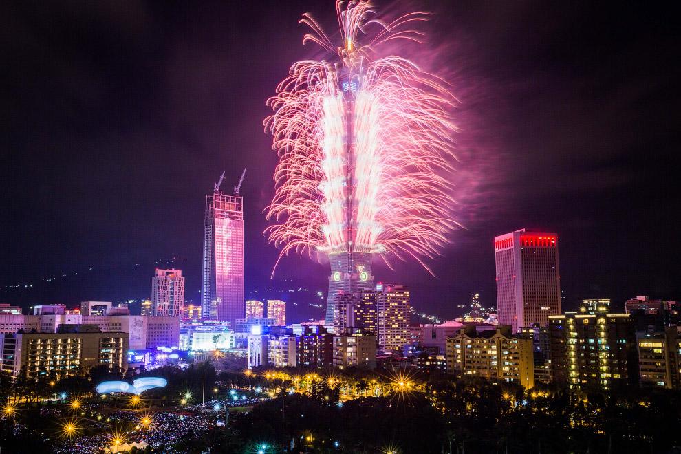 Новый год в Тайбэе, Тайвань