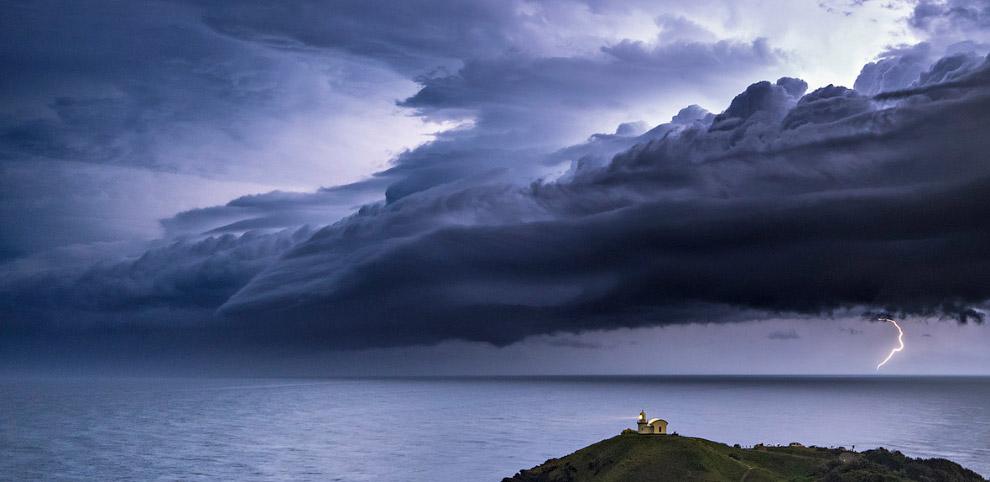 Буря в Новом Южном Уэльсе, Австралия