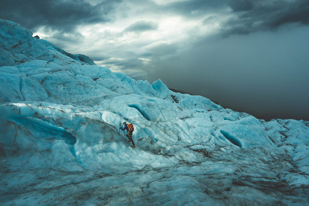 Ледник Ватнаекуль, Исландия