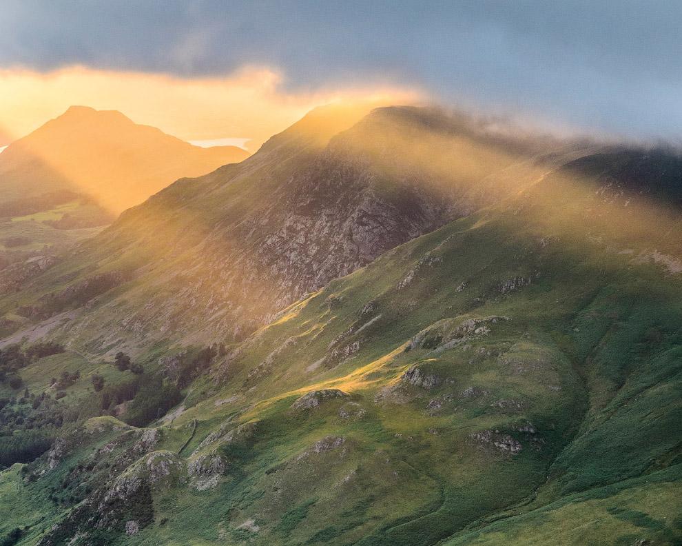 Золотистые горы, Камбрия, Англия