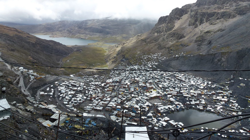 Город Ла-Ринконада, Перу