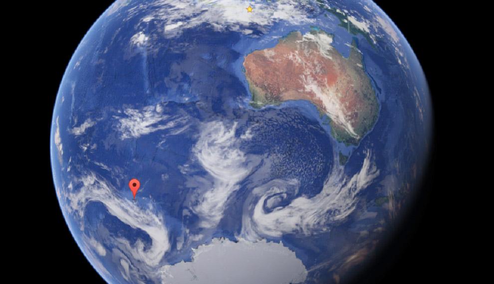 Архипелаг Кергелен, Индийский океан