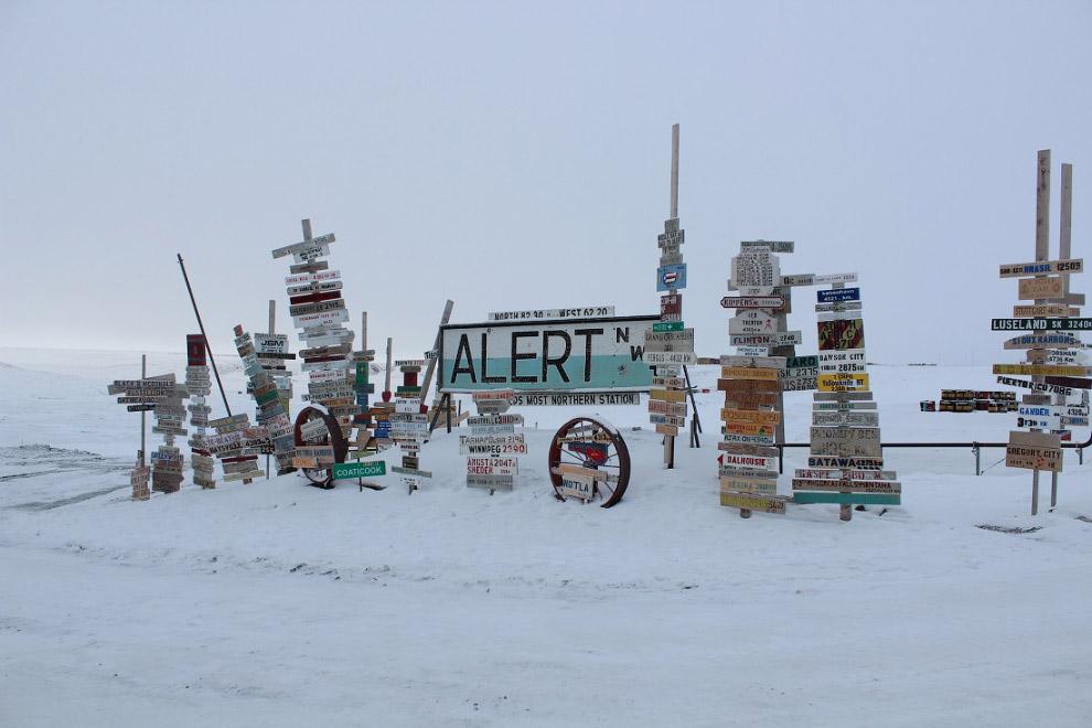Алерт, Канада