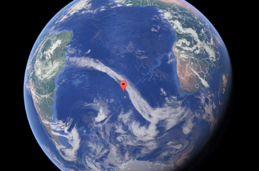 Остров Тристан-да-Кунья, Атлантический океан
