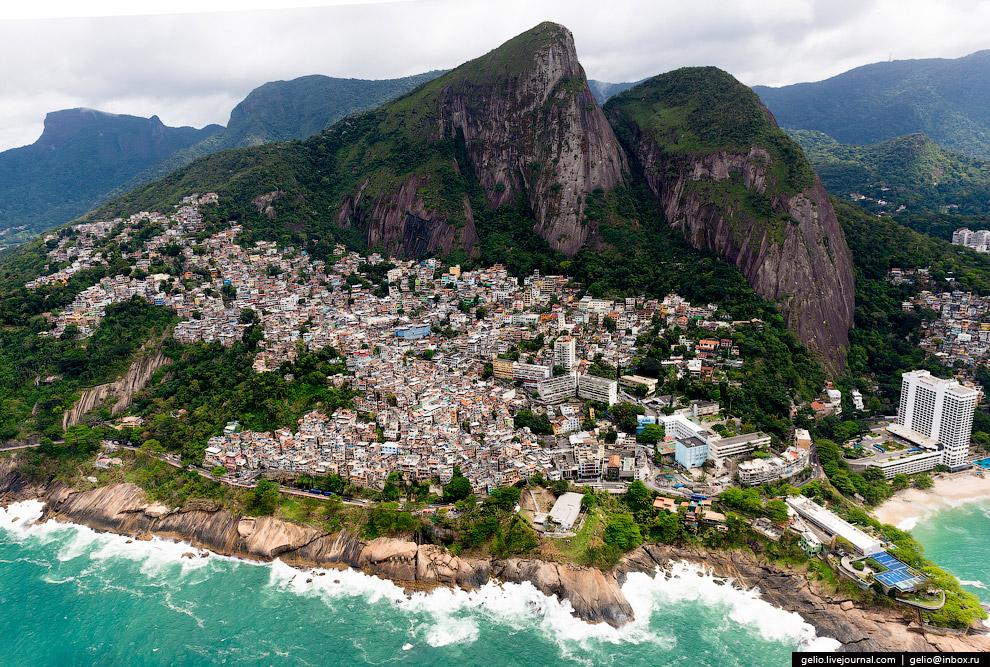 Фавелы. Ещё один символ Рио-де-Жанейро