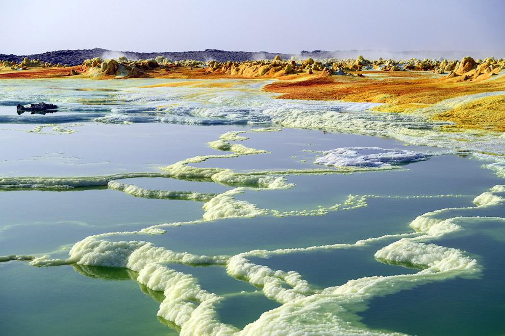 Данакиль — пустыня на севере Эфиопии и юго-востоке Эритреи
