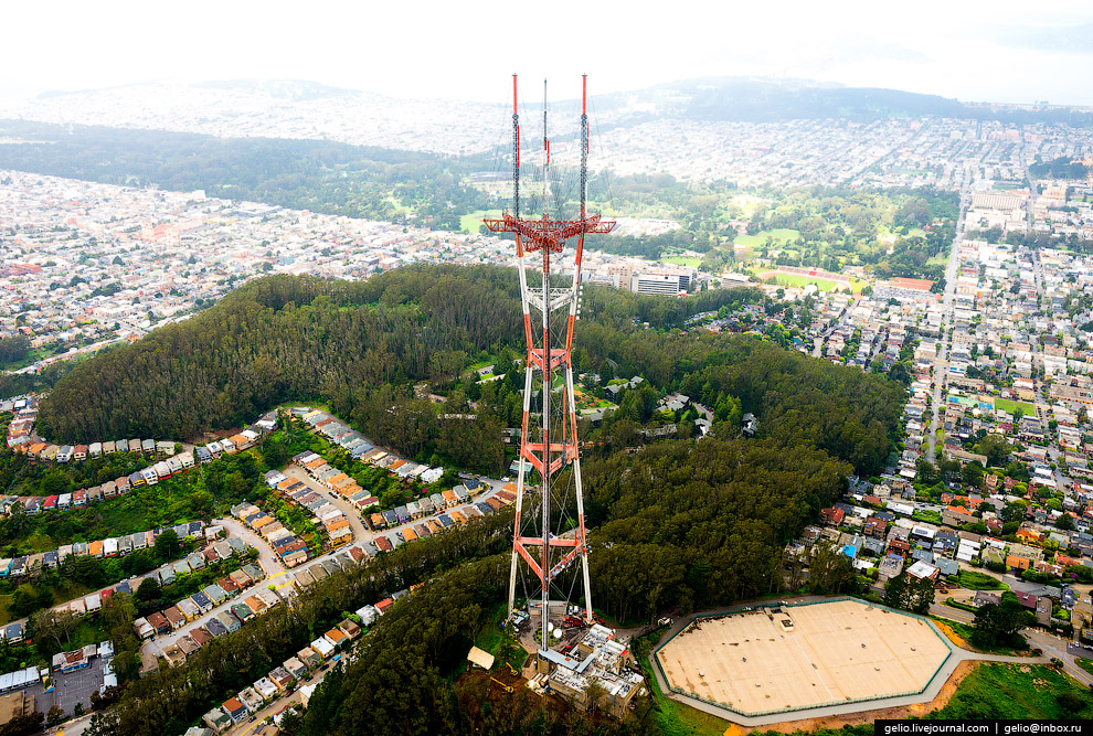 Башня Сютро (Sutro Tower)