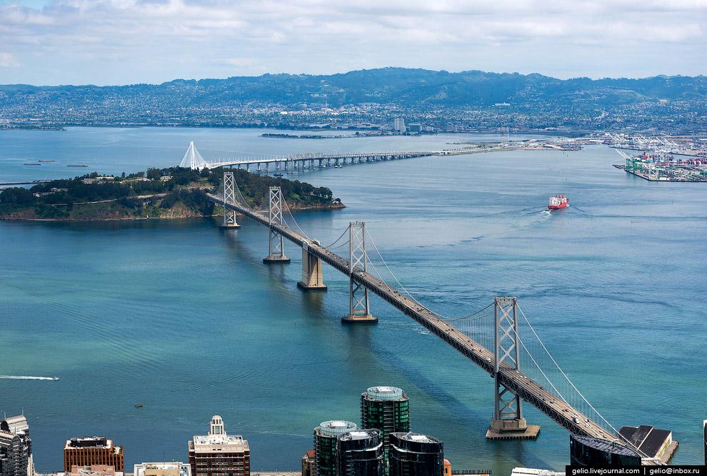 Мост Окленд Бэй-Бридж (San Francisco-Oakland Bay Bridge)