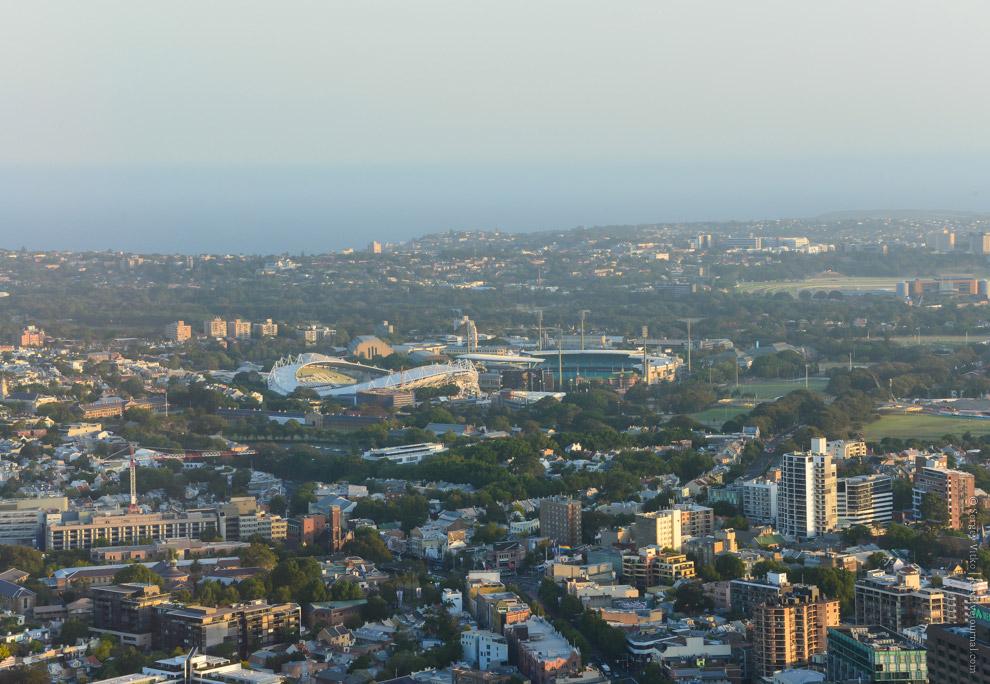 Олимпийский парк Сиднея.
