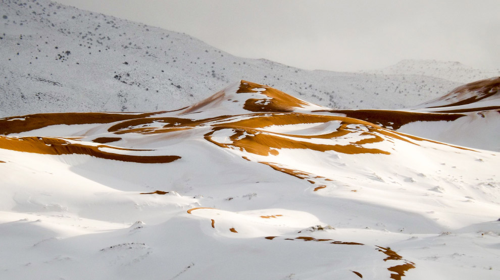 Картинки по запросу снег пустыня сахара