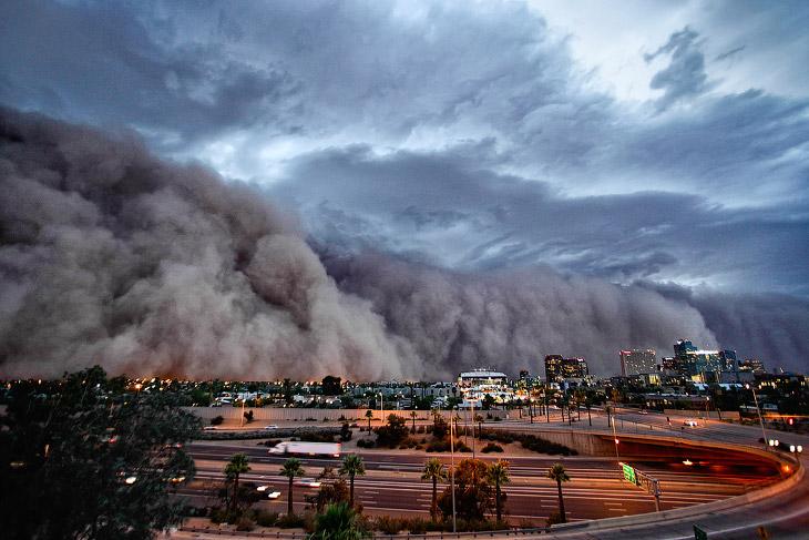 Песчаная буря в Финиксе