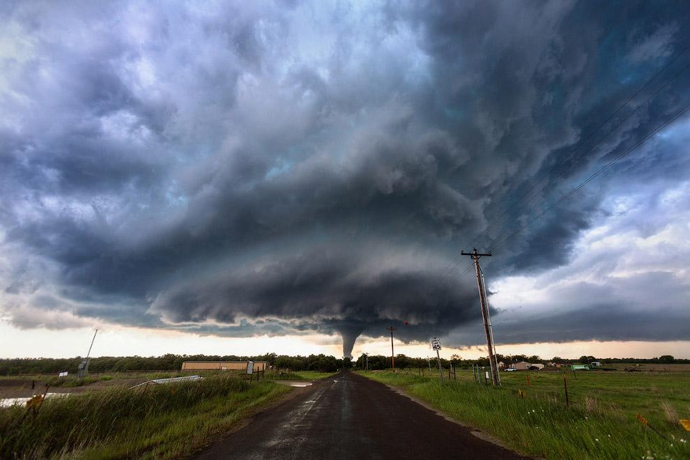 Смертельный торнадо в Оклахоме