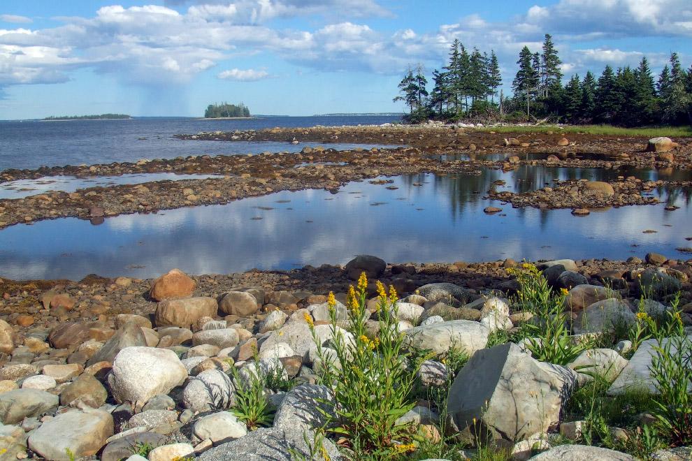 Остров Оук, Канада