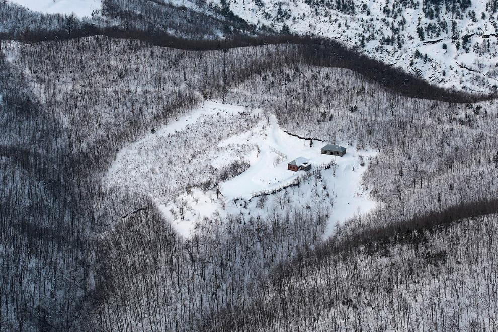 Северная Албания зимой