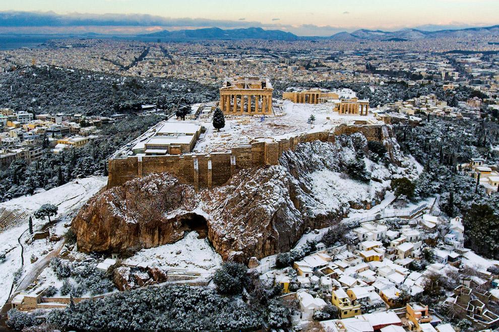Храм Парфенон в Акрополе, Греция