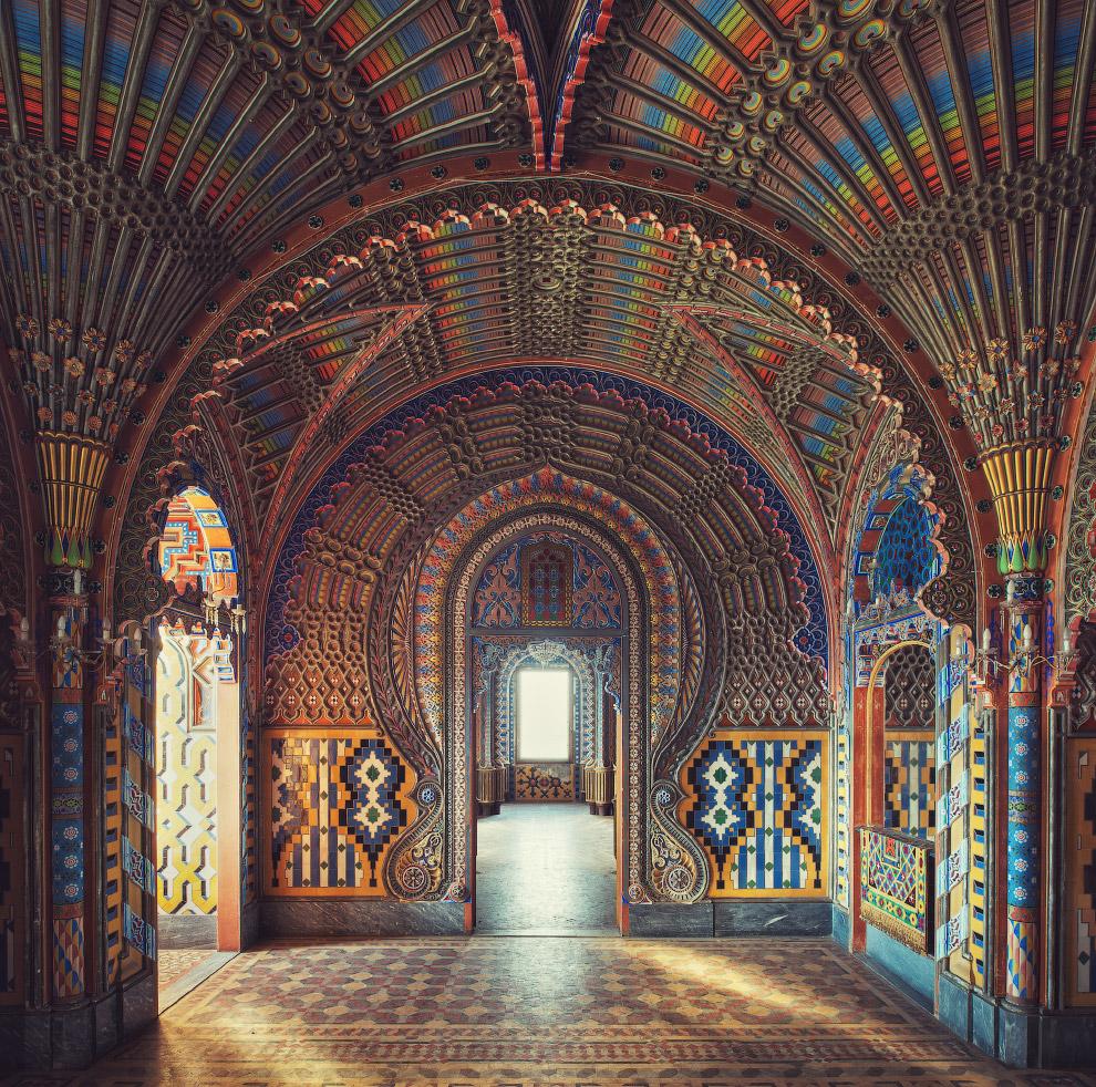 Оформление одного из итальянских замков