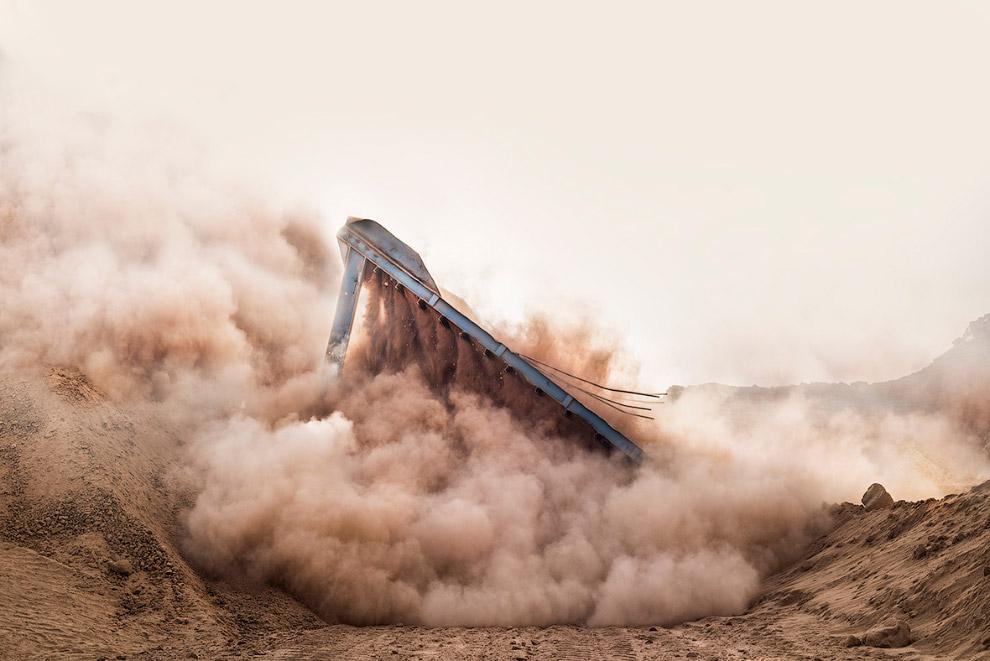 Снос конструкции в Египте также было отмечено жюри