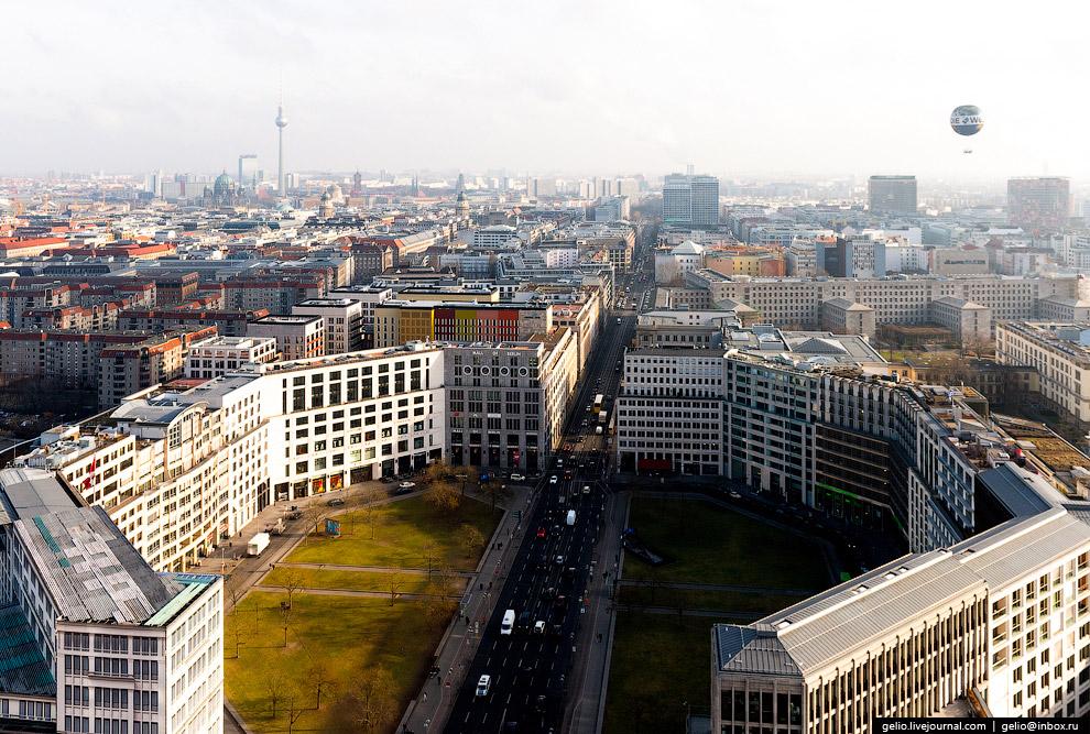 Вид на Лейпцигскую площадь