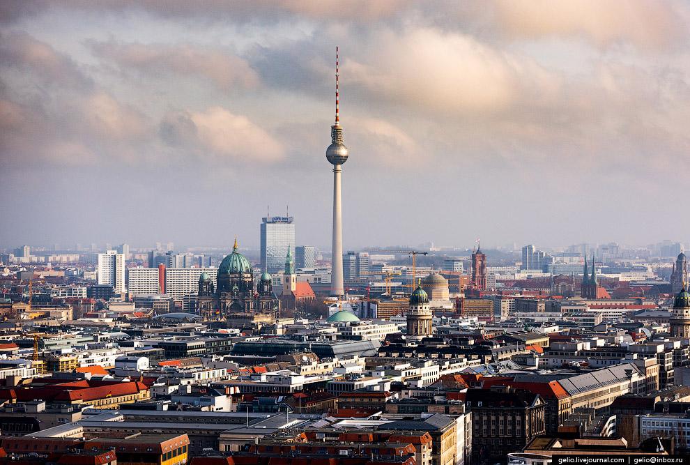 Панорама центральной части Берлина