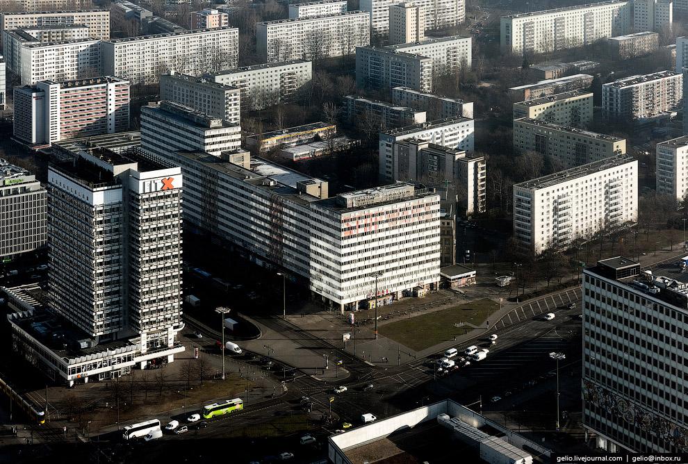 Стандартная застройка восточного Берлина.
