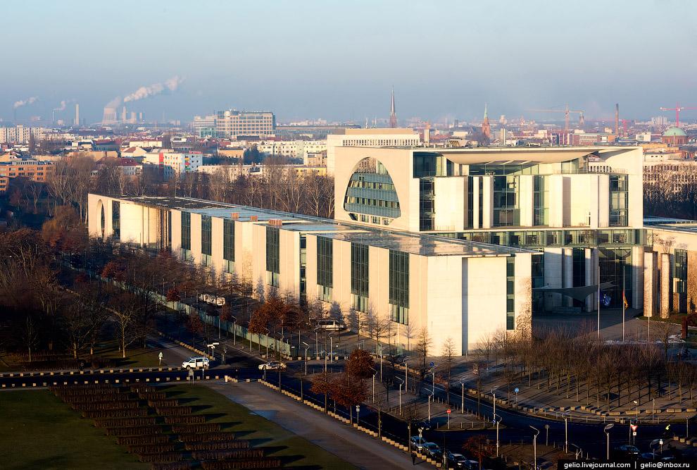 Резиденция канцлера Германии (Бундесканцлерамт)