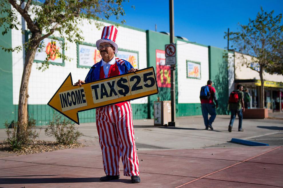 Магазин на границе в Сан-Луис, штат Аризона