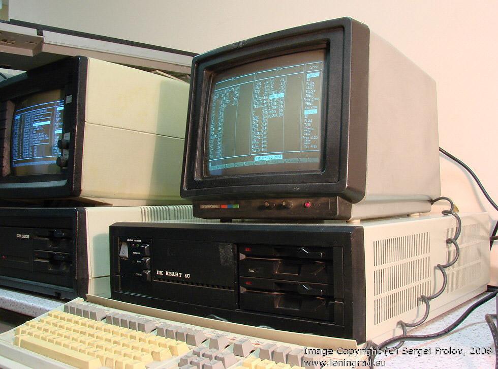 «Квант 4С» — персональный компьютер, встроенной памяти было всего 1 МБ!