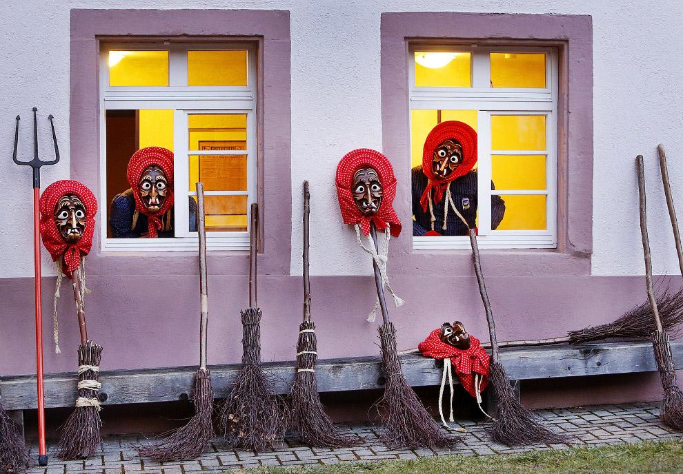 Ведьмы на метле, Германия
