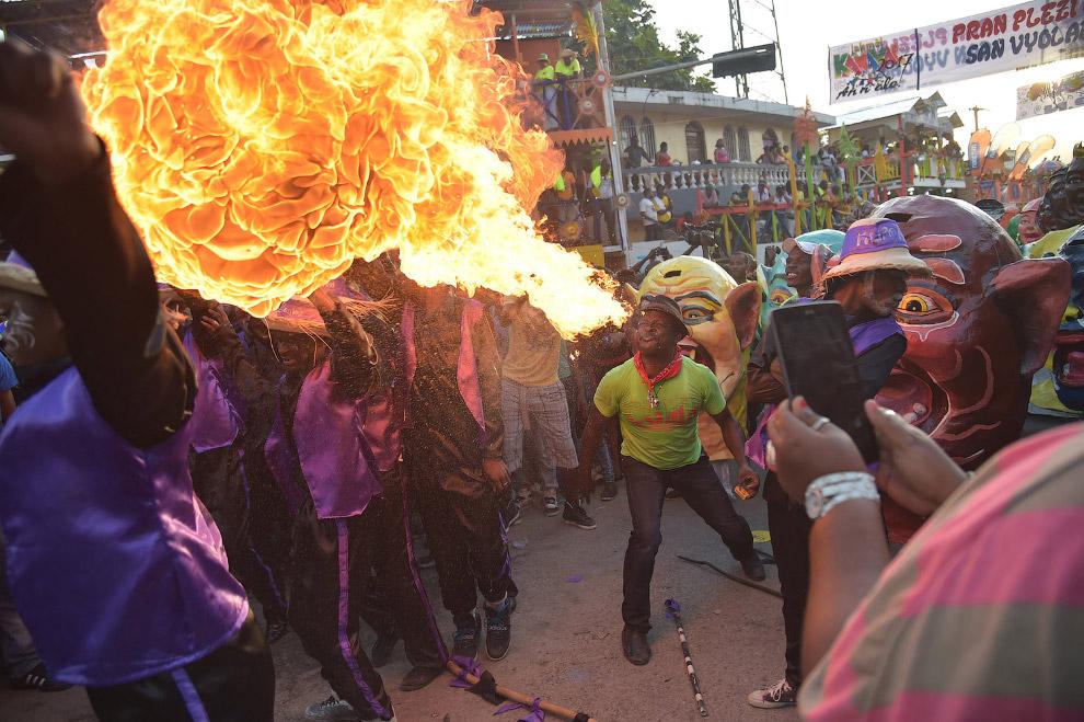 Карнавал на Гаити