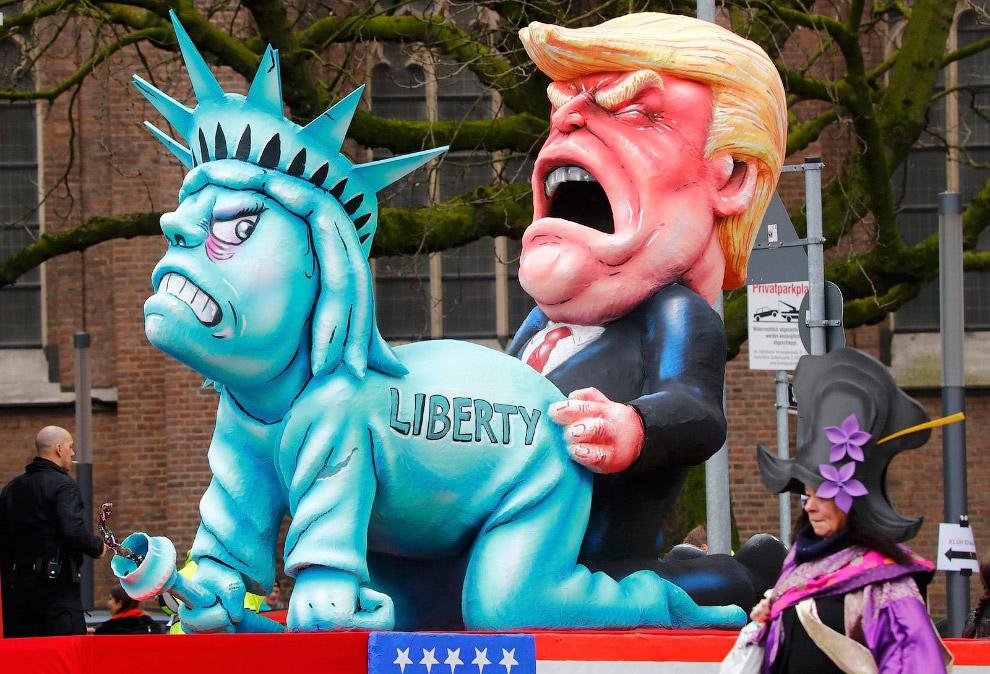 Парад в Майнце, Германия