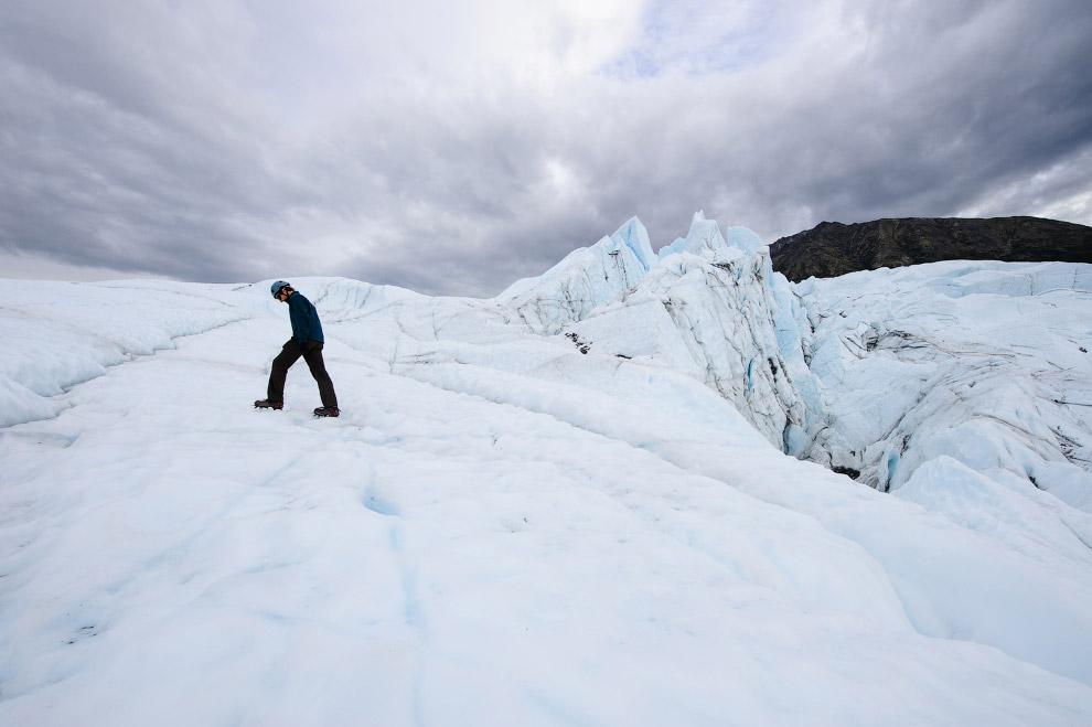 Прогулка по леднику