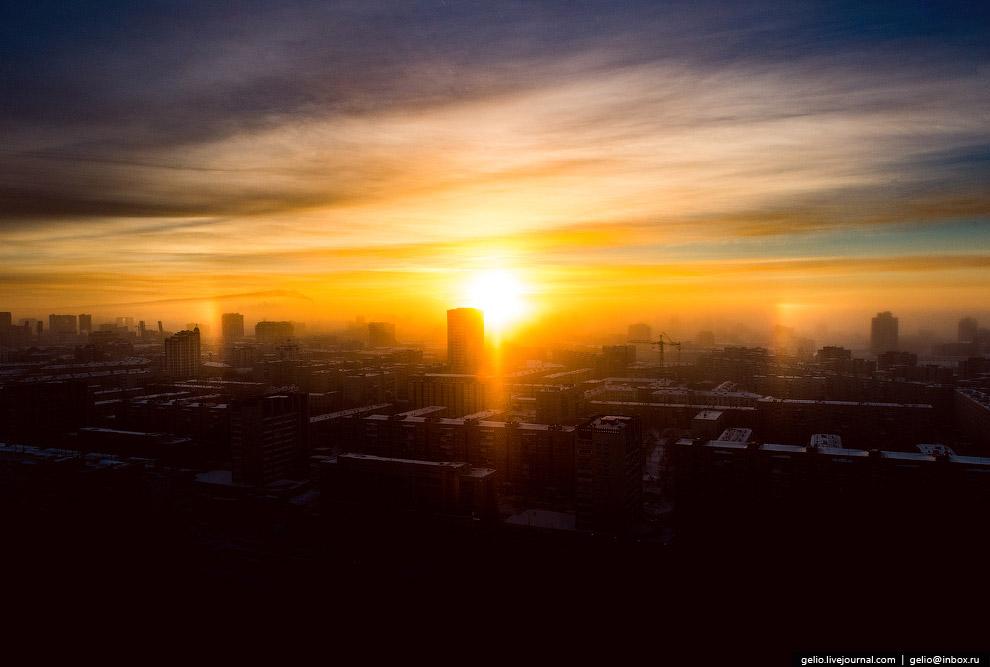 Cолнечное гало — сравнительно редкий оптический атмосферный феномен.