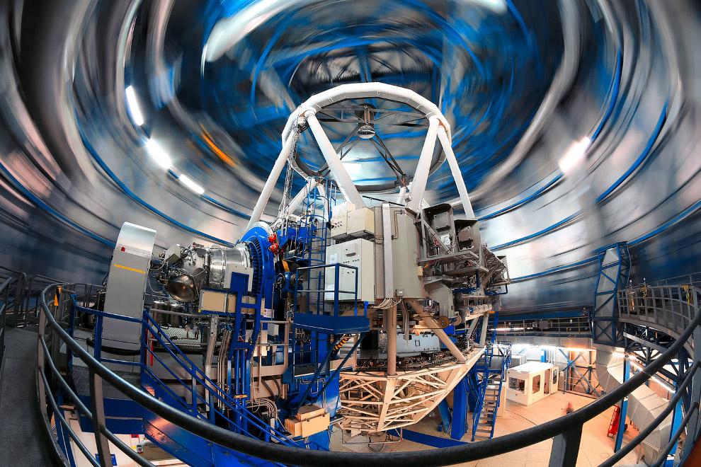 Механизм Очень большого телескопа
