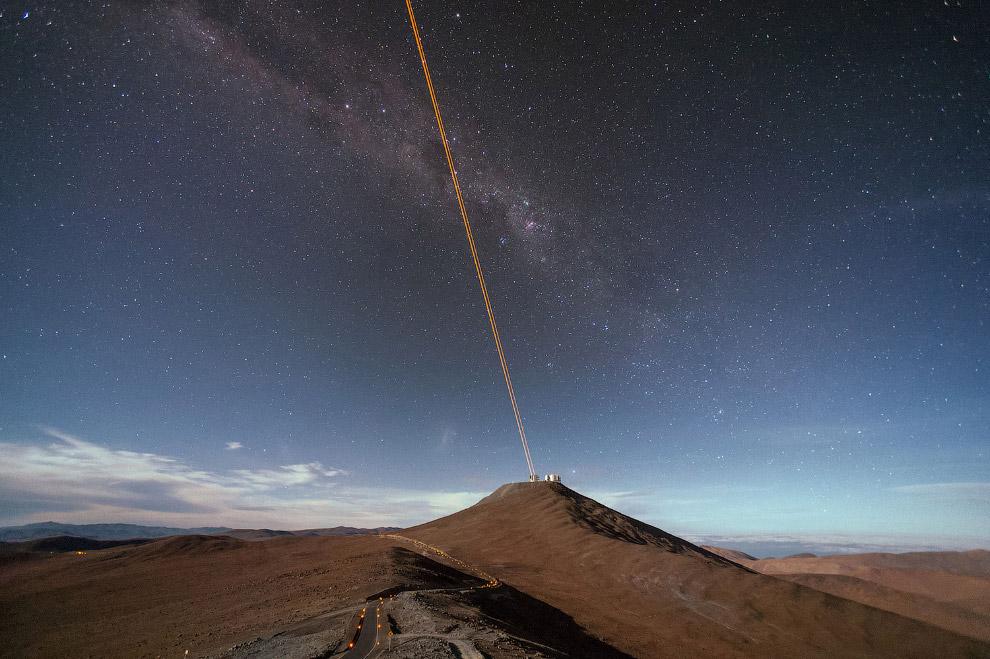 Самым большое препятствие в астрономии наземной – наша атмосфера