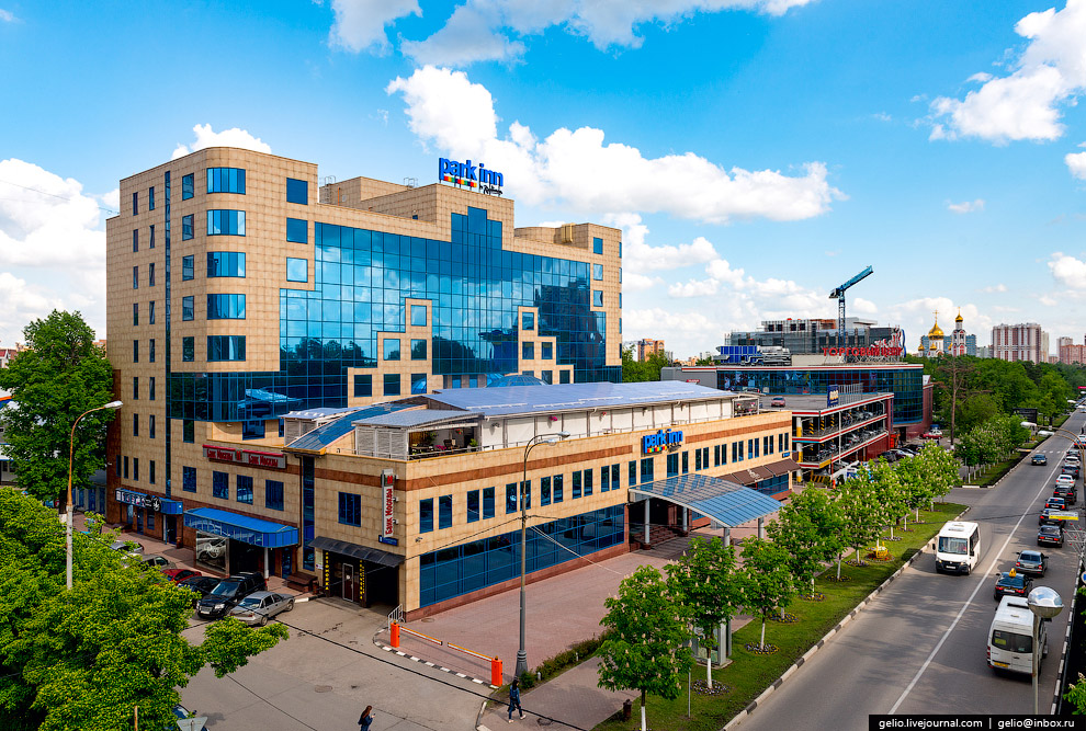 Отель Park Inn by Radisson Odintsovo Moscow.