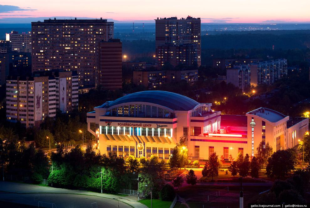 Волейбольный центр Московской области