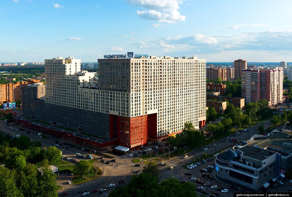 Жилой комплекс «Да Винчи» недалеко от центра Одинцово.Жилой комплекс «Да Винчи» недалеко от центра Одинцово.
