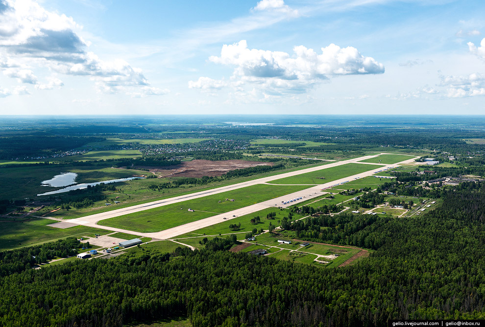 Военный аэродром Кубинка