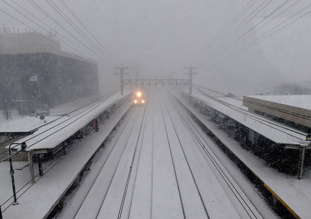 Призрачный поезд в штате Коннектикут