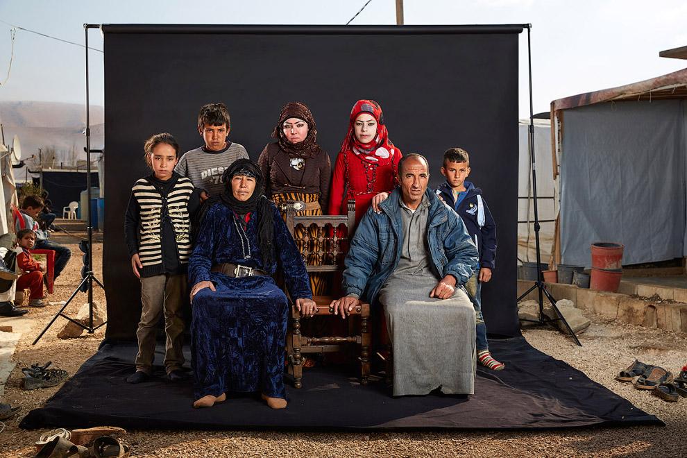 Семейный портрет сирийцев