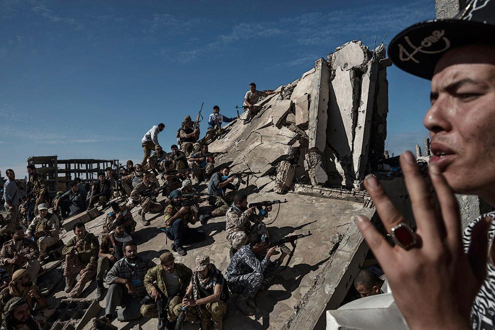 Очередной военный день в Ливии
