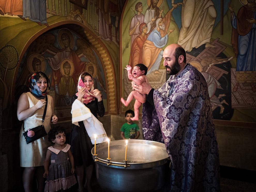 Крещение в Тбилиси, Грузия
