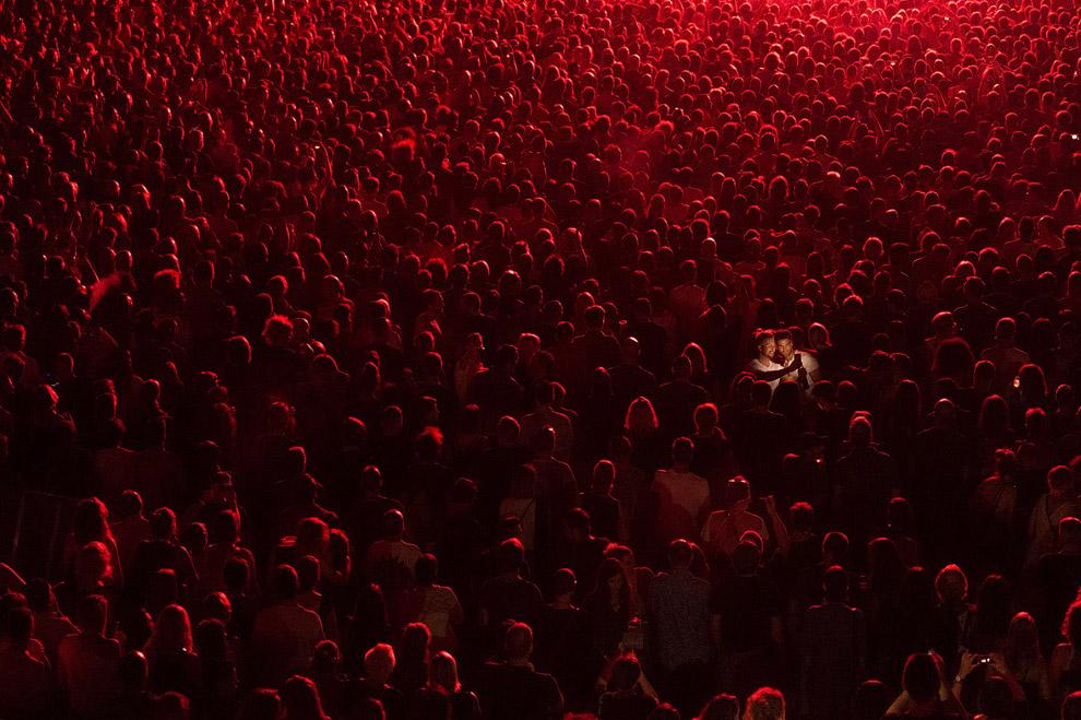 Селфи на концерте в Хорватии