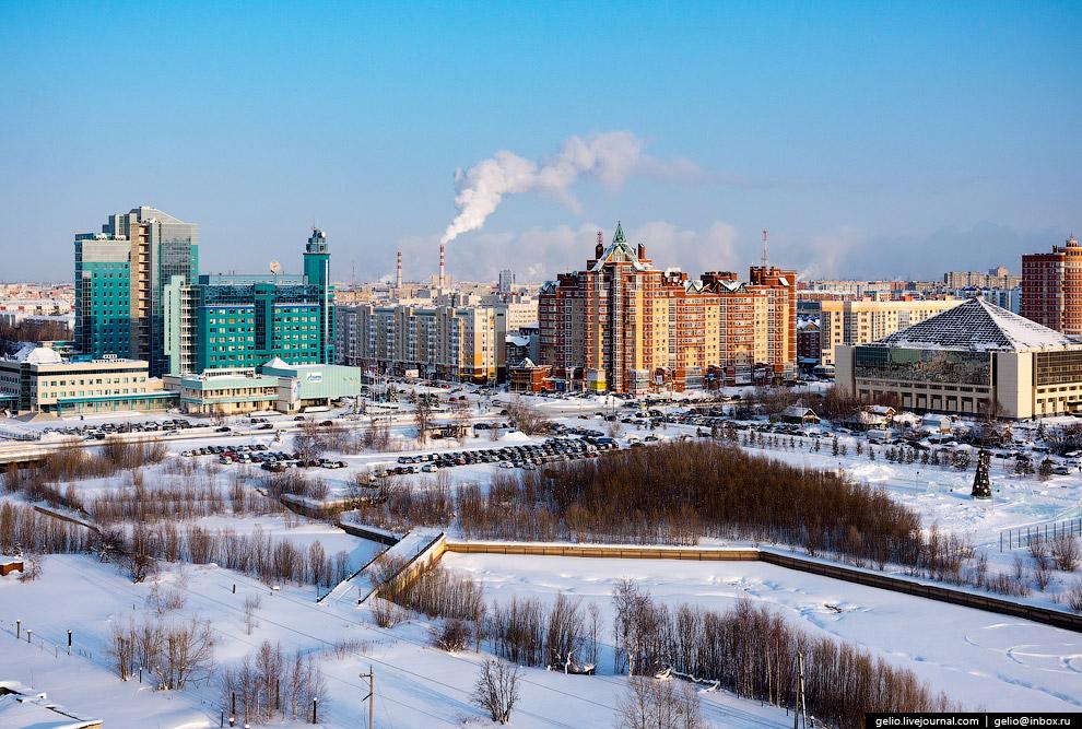 Река Сайма и улица Университетская