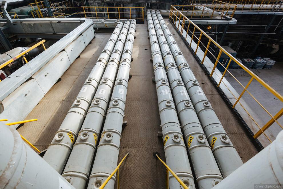 Токопроводы газовых турбин