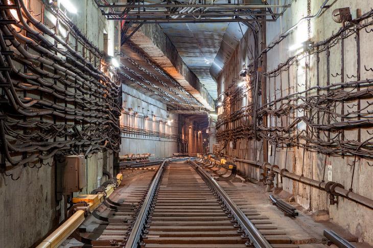 Подземные тоннели московского метро