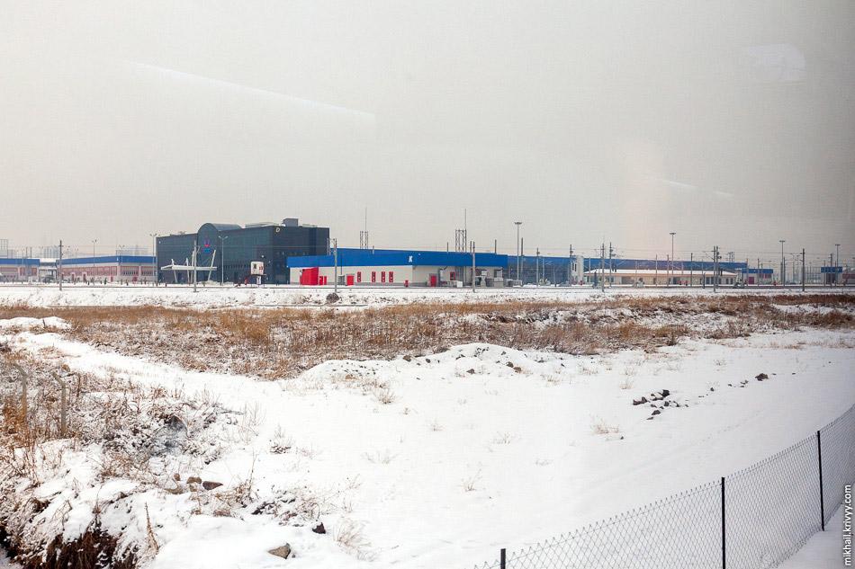 Депо високошвидкісних поїздів в Сінджане, Анкара.