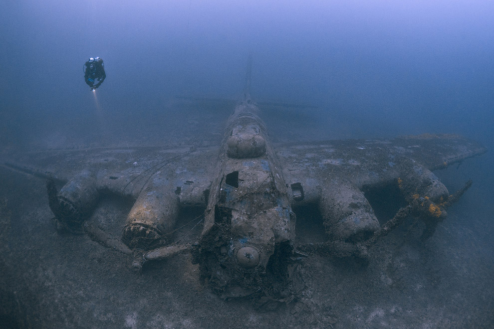 Остатки Boeing B-17 Flying Fortress