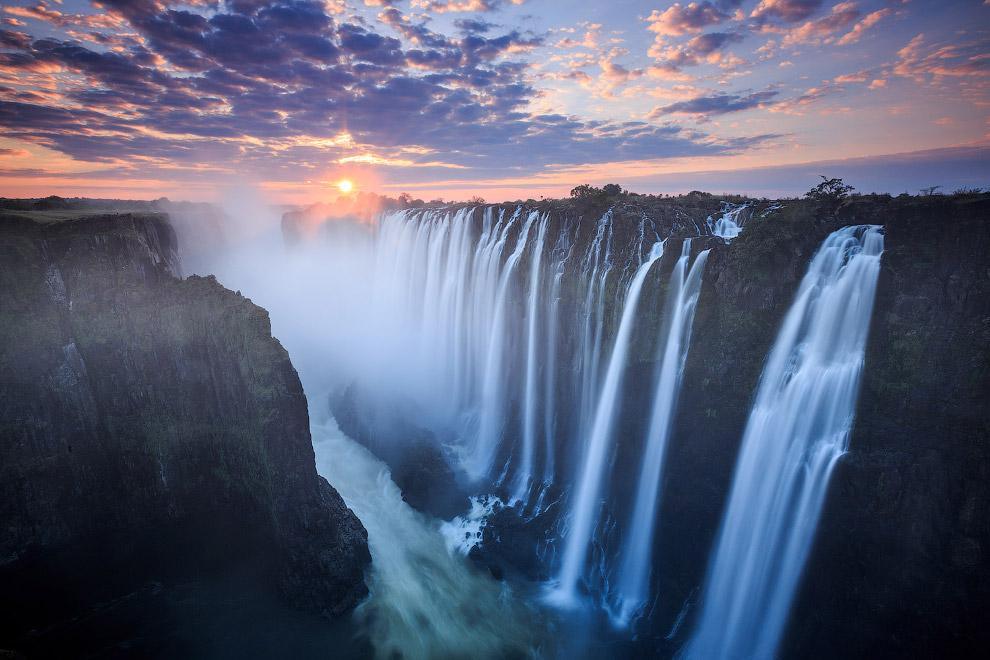 Водопад Виктория, Замбия/Зимбабве