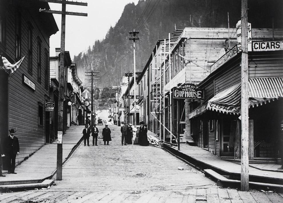 Аляска во время «золотой лихорадки»